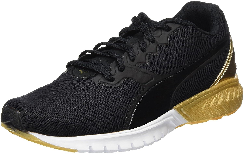 Puma Ignite Dual Wn's, Zapatillas de Running para Mujer 37 EU|Negro / Oro