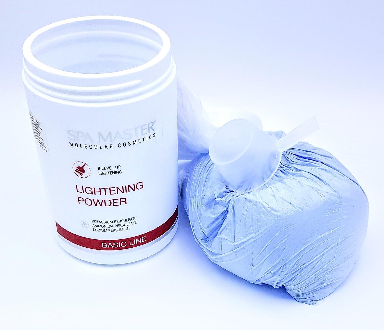 POLVO ACLARANTE Spa Master - Polvo Aclarante para un Blanqueamiento del Pelo hasta 8 niveles 900 g Rosa Impex