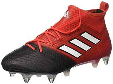 adidas Ace 17.1 Primeknit SG, Chaussures de Football Homme, Rouge (Red/FTWR