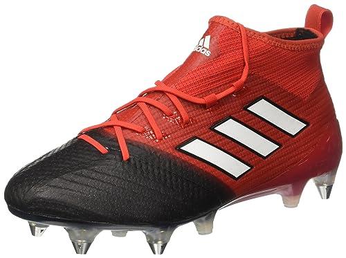 adidas Ace 17.1 Primeknit SG, Botas de fútbol para Hombre, Rojo (Red/