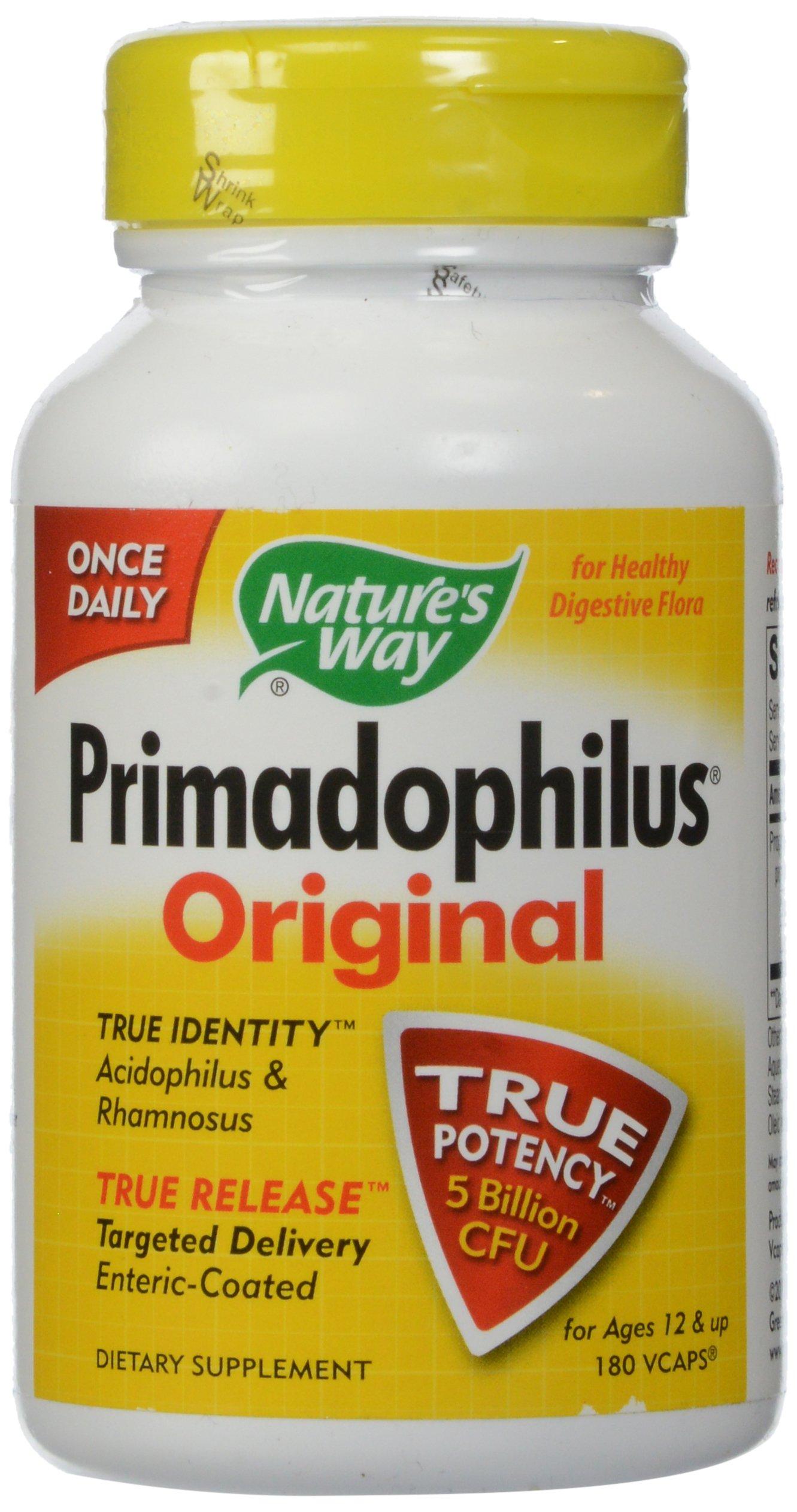 Nature's Way Primadophilus Original, 180 Vcaps