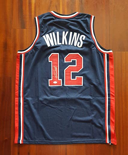 Autographed Dominique Wilkins Jersey - USA Dream Team - JSA Certified -  Autographed NBA Jerseys 124880a06ed8
