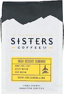 Sisters Coffee, Coffee High Desert Sunrise, 12 Ounce