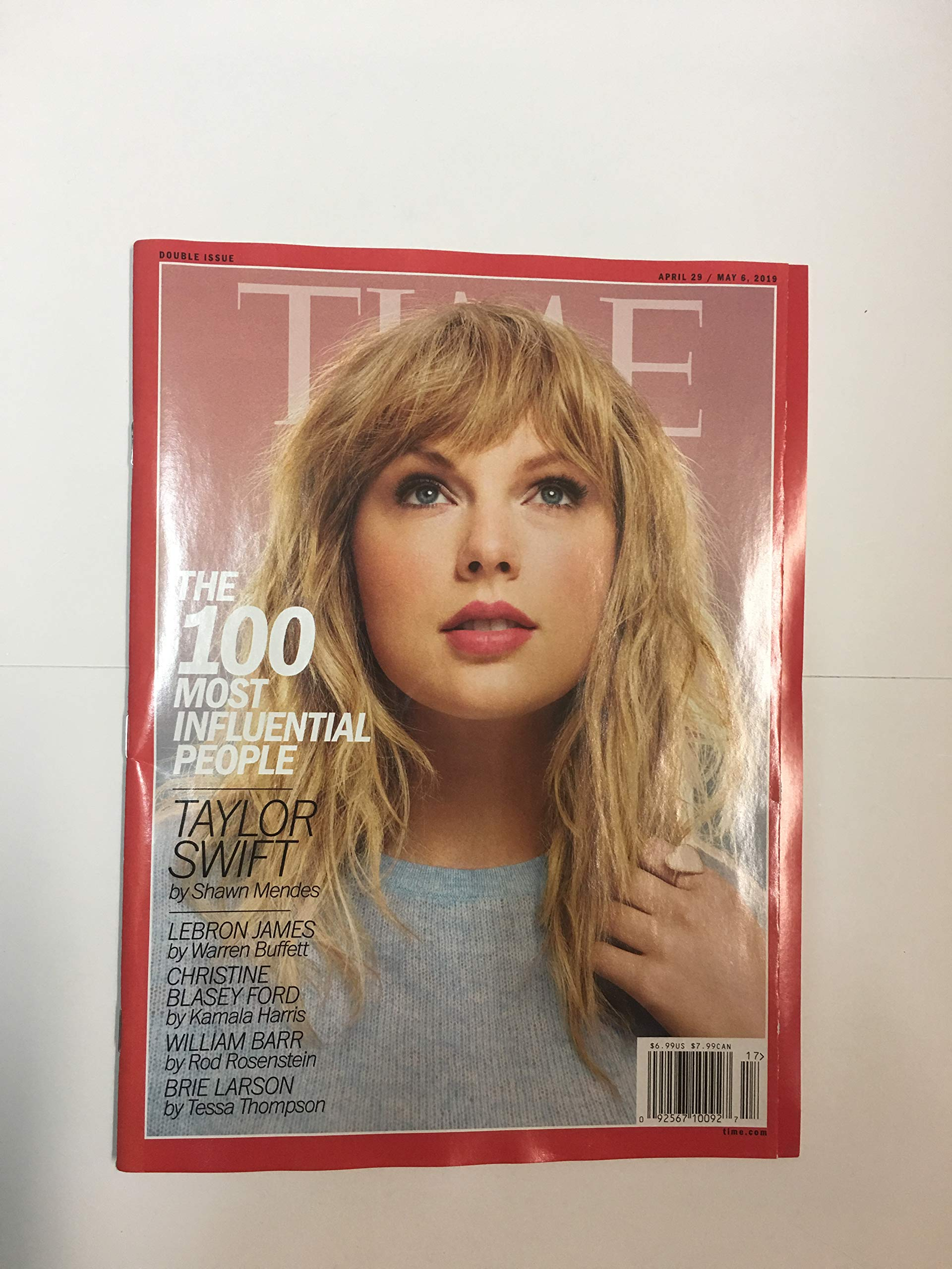the latest 7025d b826f Time Magazine 100 Most Influential People Taylor Swift: Time ...