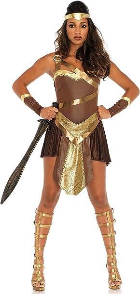 Amazon.com: Leg Avenue - Disfraz de guerrero gladiador ...
