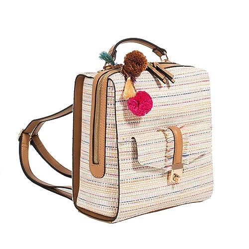 Parfois - Mochila Colette - Mujeres - Tallas M - Multicor Pastel: Amazon.es: Zapatos y complementos