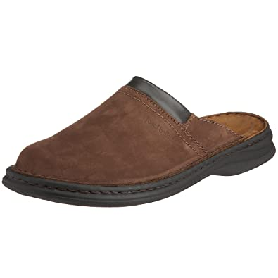 1a8ec1f28 Josef Seibel Max Men s Brown Leather Mules 41 EU 9 D(M) US