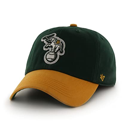 more photos 6056e 8f28b ... cheap amazon mlb oakland athletics franchise fitted hat dark green  small sports outdoors cac8a 0d722