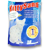 KITTY SAND cat Litter Crystal Lavender flavour 3.8 L