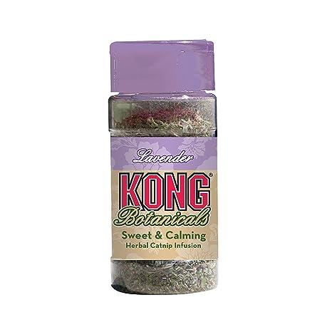 Kong JU03856 Juguete para Gato Catnip Botanicals Lavanda - 10 gr