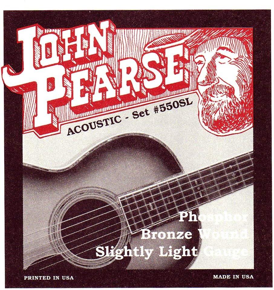 John Pearse Strings Light Guitar Set Bronze