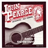 John Pearse Acoustic Guitar Strings Phosphor Bronze Slightly Light