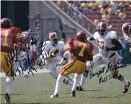 Sports Mem, Cards & Fan Shop Photos Dwight Stephenson Alabama Crimson Tide Roll Tide Action Signed 8x10