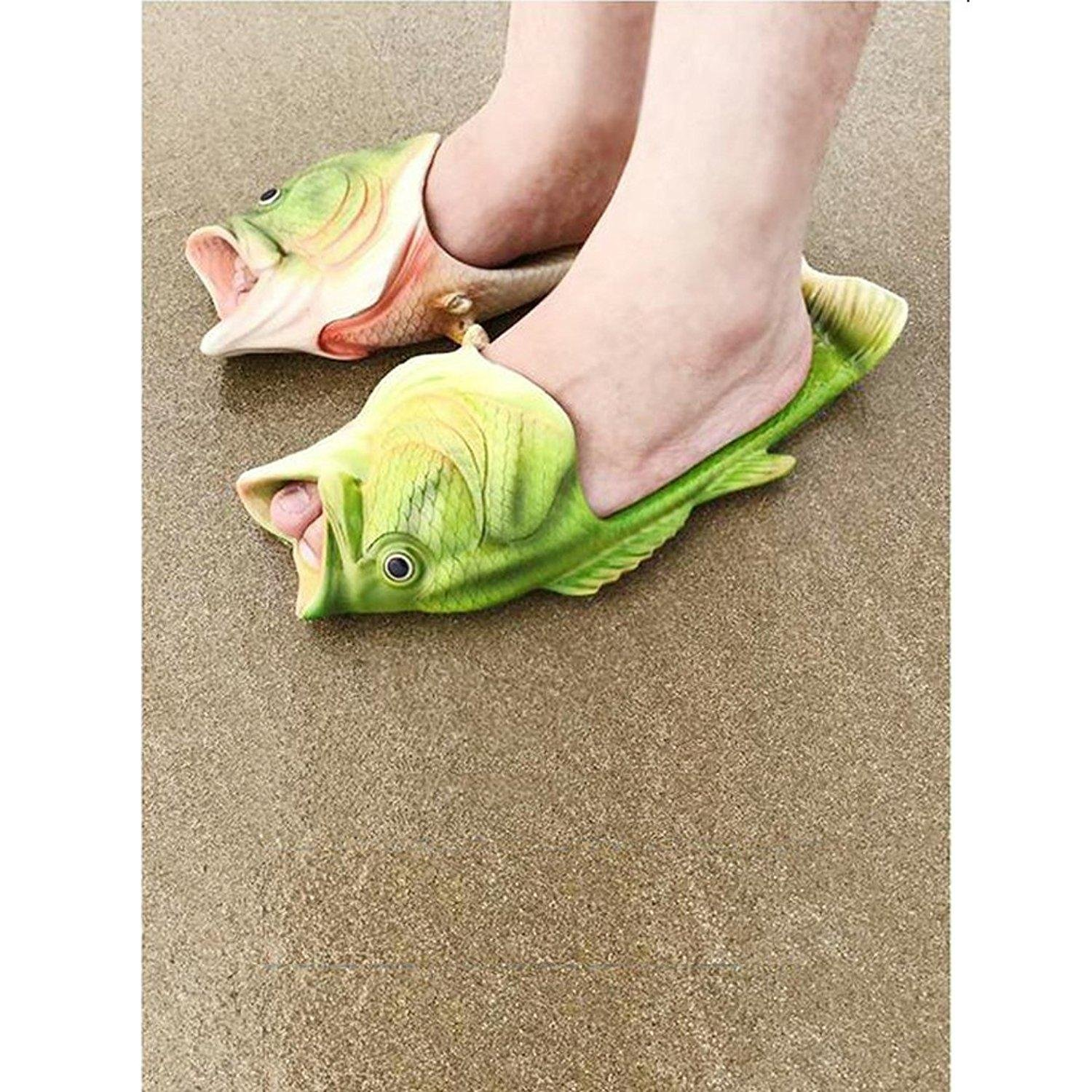 abf94b66a83023 MAXGOODS Ladies Summer Flip Flop Beach Shoes Pool Sandals Shoes Slippers Men  and Women Casual Fish Animal Shoes 35 US 4.5 Female  Amazon.co.uk  Shoes    Bags