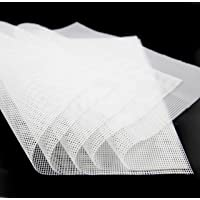 GUCUJI Pack of 5 Premium Non Stick Silicone Dehydrator Sheets for Fruit Dryer Mesh