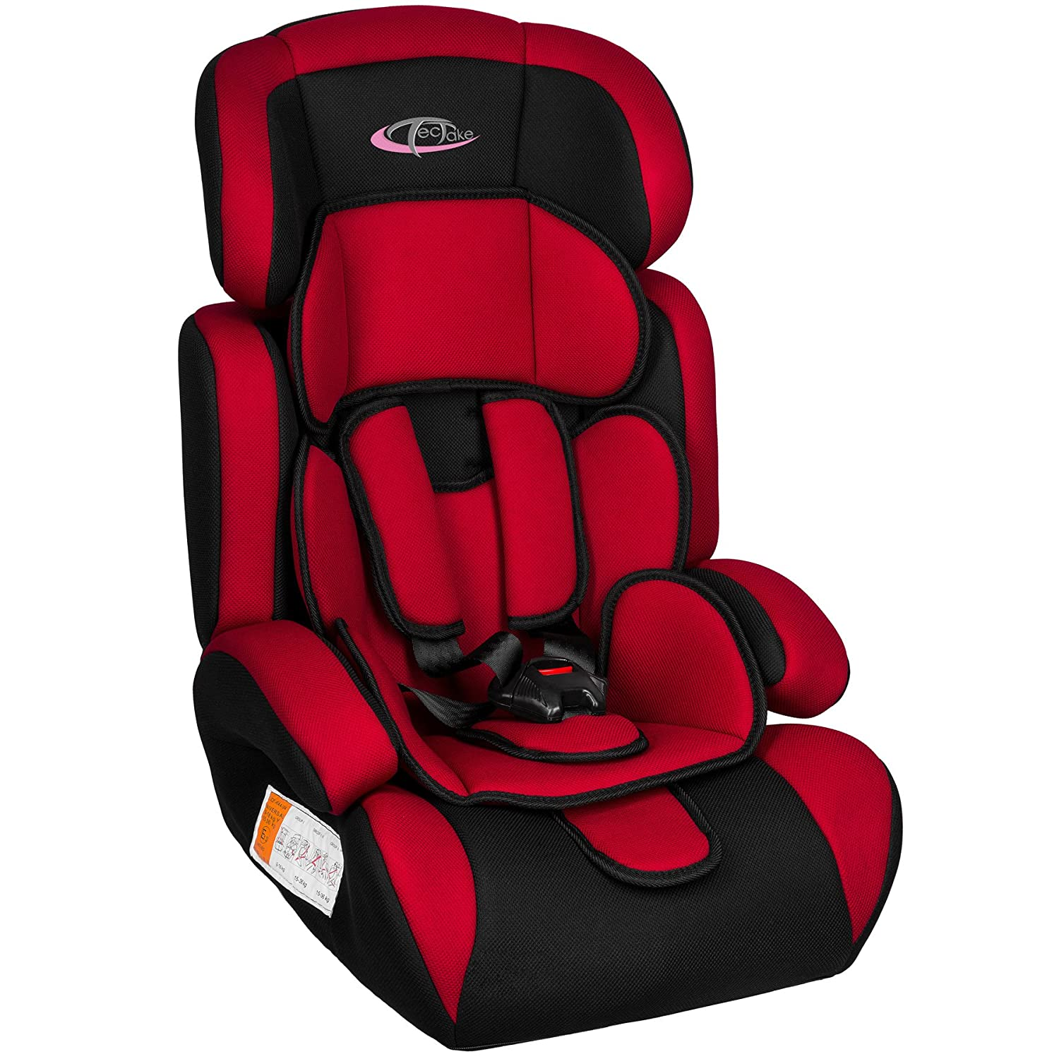 TecTake Sige Auto Groupe I II III Pour Enfants 9 36 Kg 1 12 Ans Rose Amazonfr Bbs Puriculture