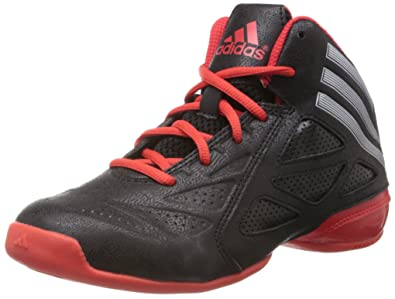 adidas Boy's Nxt Lvl Spd 2 K Black and Red Basketball Shoes ...