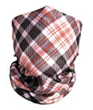 Flannel Face Mask By BikerFace - Microfiber