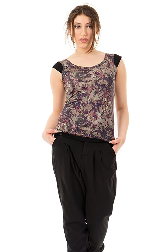 Papillon Shirt Tee T Ras D'une Col Du 3elfen Flower Ou Cou Magic IWEH2YD9