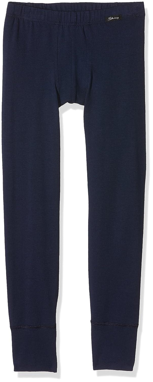 Skiny Cotton Basic/Pant Lg, Pantaloni da Pigiama Bambino Pantaloni Pigiama Bambino Blau (night 0378) 036241