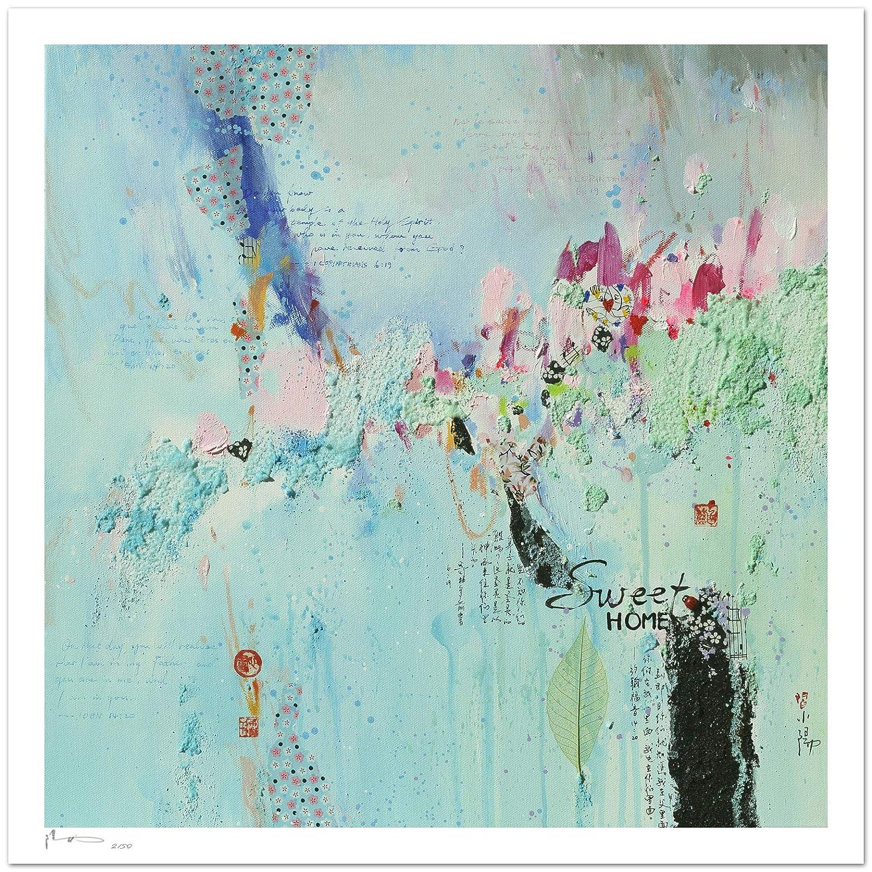 Reproducción de arte - Sweet home - sobre papel de acuarela 300g ...