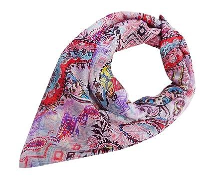 eecaf77c1695 PEEGLI Foulards Indiens Mode Hijab Neck Wrap Écharpe Élégante Nouvelle  Étole  Amazon.fr  Vêtements et accessoires