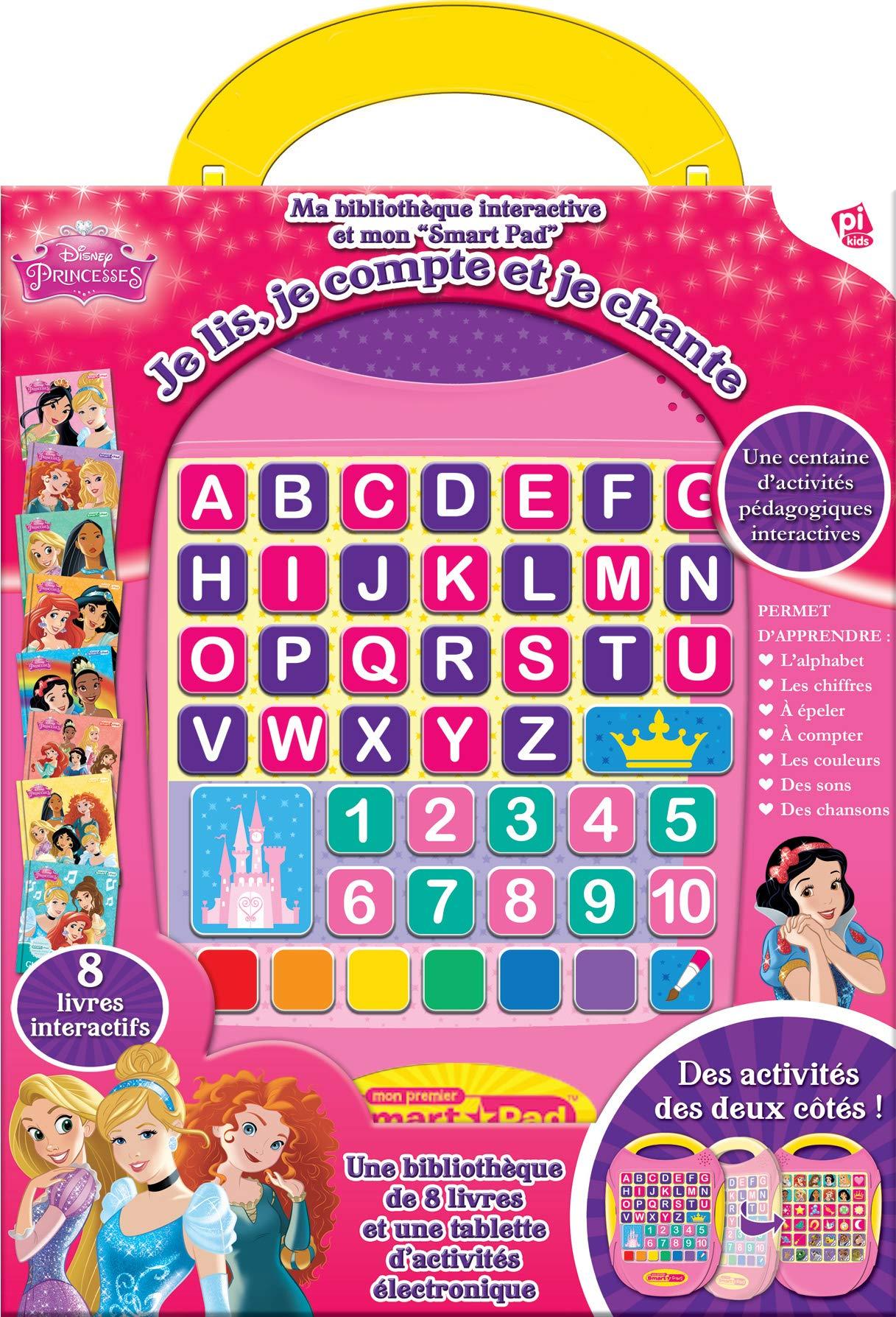 Disney Princesses Ma Bibliotheque Interactive Et Mon