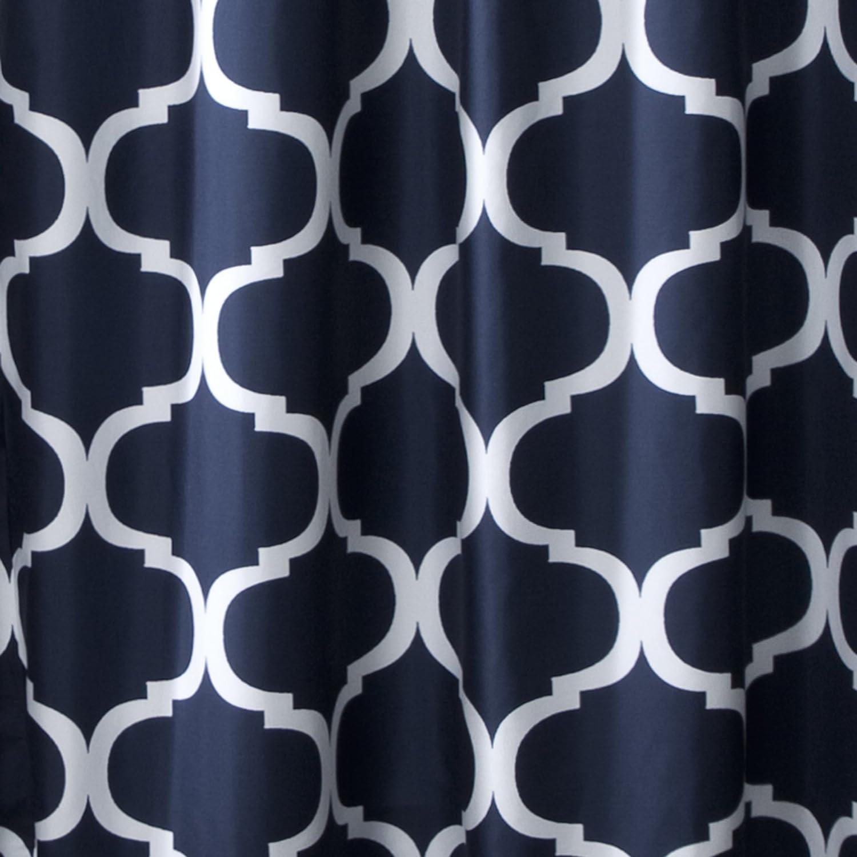 Amazon.com: Lush Decor Geo Shower Curtain, 72 Inches X 72 Inches ...