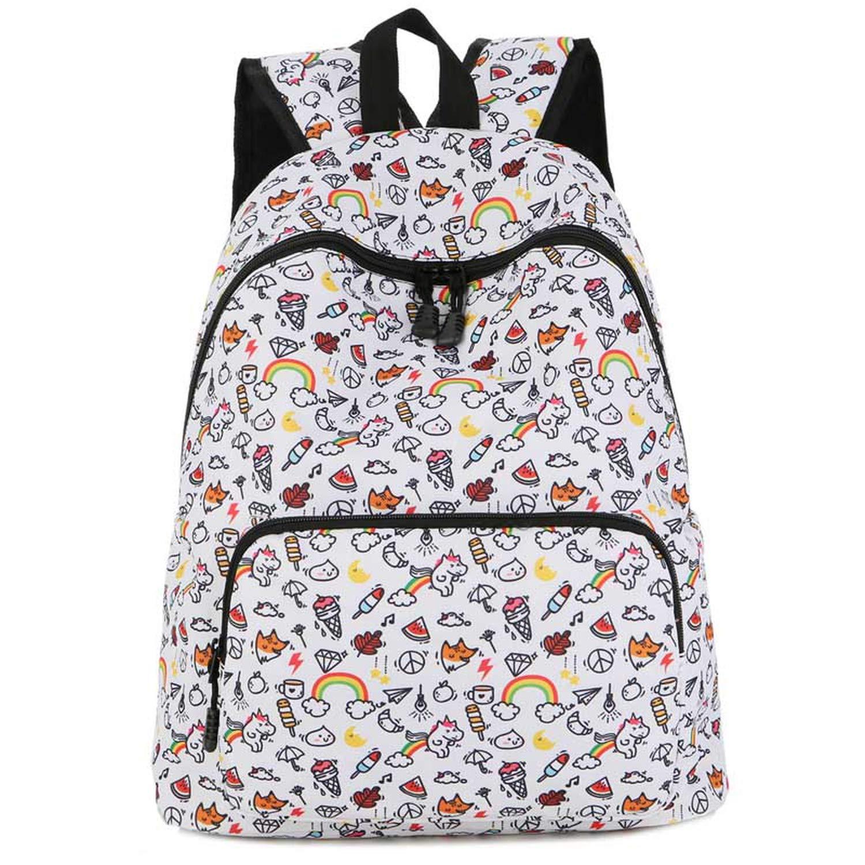 Amazon.com | laptop school bag bolsos unicornio printed ...