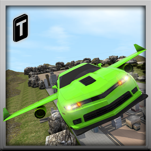Flying Car Stunts 2016