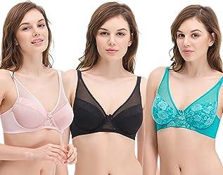 fd7c515b594 Curve Muse Women s Plus Size Minimizer Unlined Underwire Full Coverage Bra
