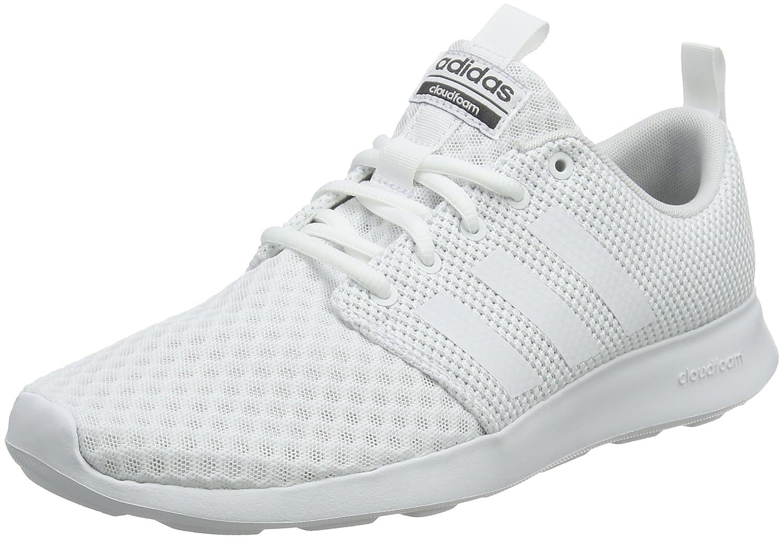 Adidas Cloudfoam Swift Racer, Zapatillas para Hombre 47 1/3 EU Blanco (Ftwbla / Balcri / Carbon 000)