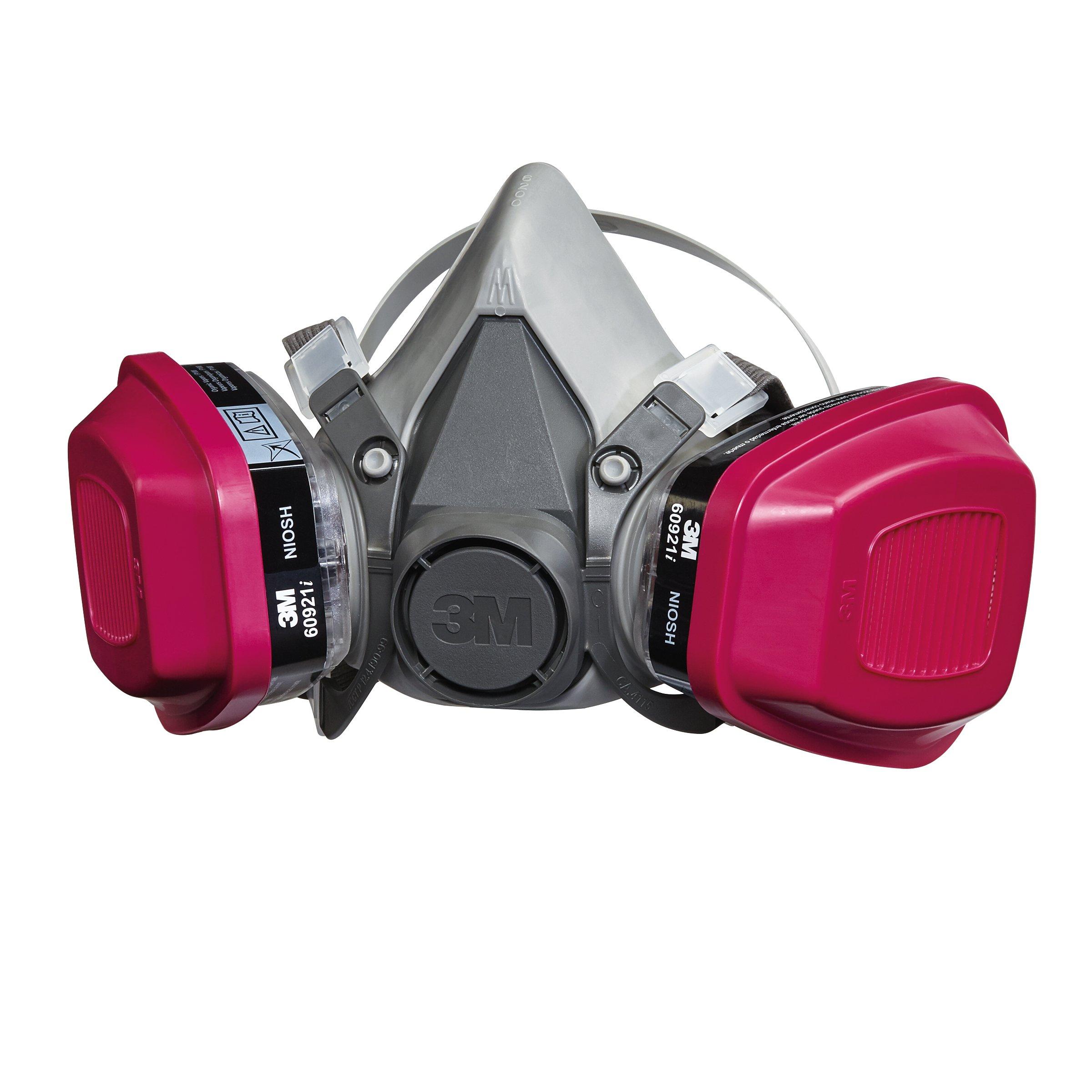 3M Organic Vapor Cartridge/Filter 60921, P100 Respiratory Protection (Pack of 2)   eBay