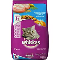 Whiskas Adult Cat Food Pocket Ocean Fish, 7 kg Pack