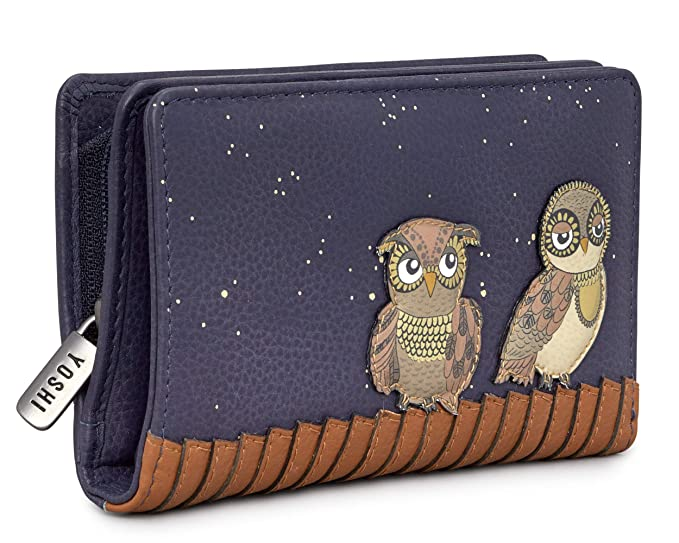 Yoshi Owl You Need - Monedero Redondo con Cremallera y ...