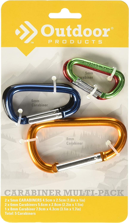 SEE DESCRIPTION Medium Karabina Hook New X 2 Asst Colours
