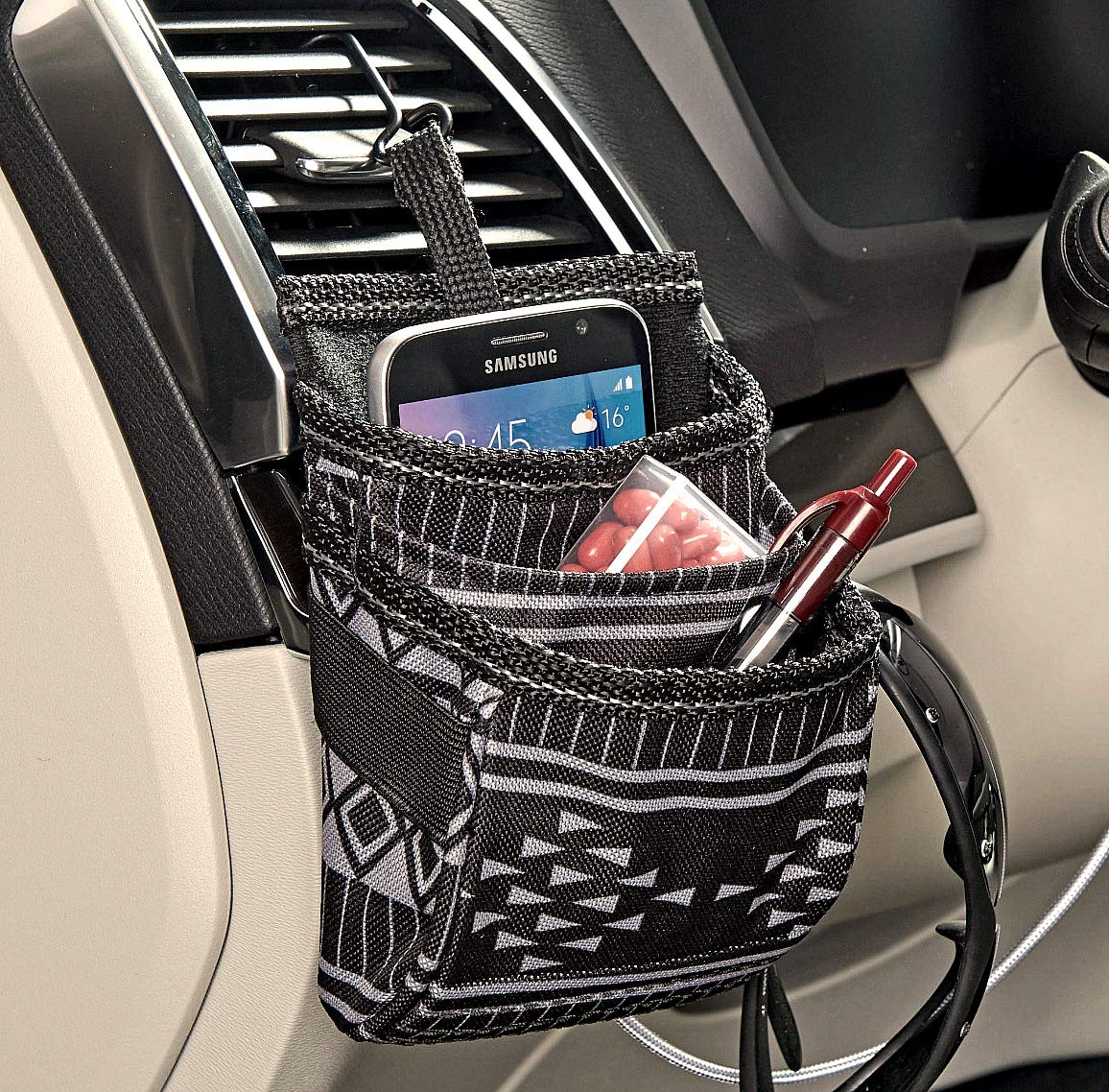 High Road DriverPockets Air Vent Phone Holder and Dash Organizer (Baja) by High Road