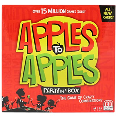 Mattel Apples to Apples Party Box The Game of Crazy Combinations: Unknown: Toys & Games