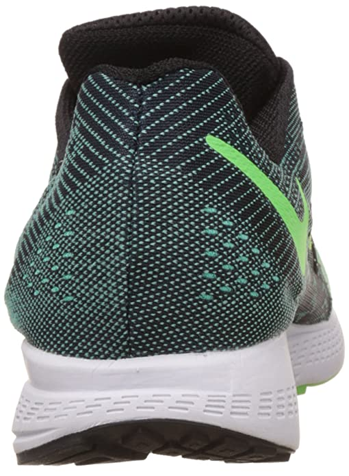 0cfd4529dc53 ... release date nike mens flyknit trainer florescent green and black  running shoes 9 uk india 44