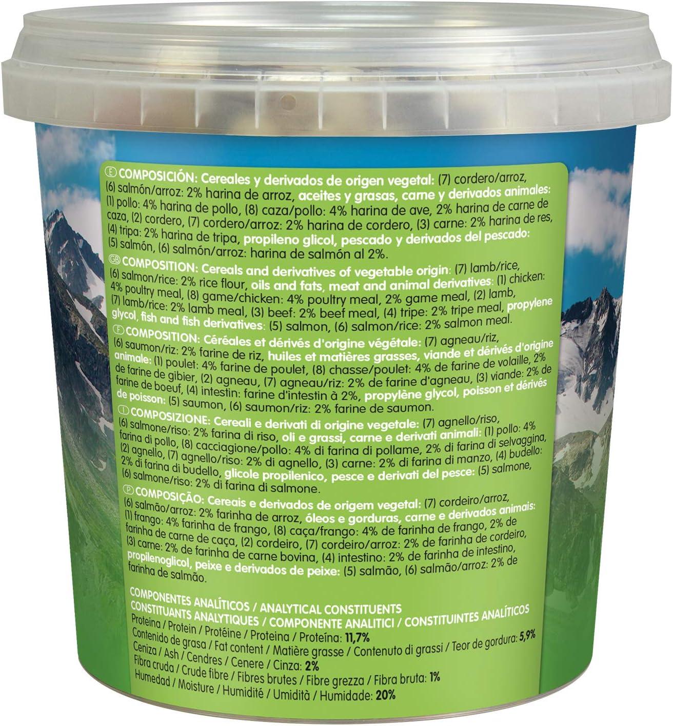 Arquivet Soft Snacks de salmón para Perro - Snacks Naturales en Forma de huesitos - Golosinas y chuches Naturales - Premios y recompensas para Perros ...