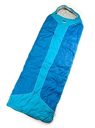 SALEWA Dream Light 300 Square Sb Saco De Dormir -1° Azul Derecha: Amazon.es: Deportes y aire libre