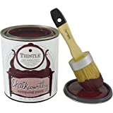 Giani Granite FG-CW THITL QT Chalkworthy Antiquing Paint Quart, 32 oz, Thistle