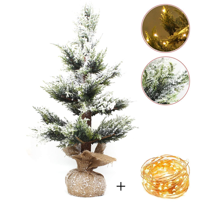 Tannenbaum Weiss Led.Fooing Christmas Tree With Weihnachtsbaum Künstlich 120cm Natur