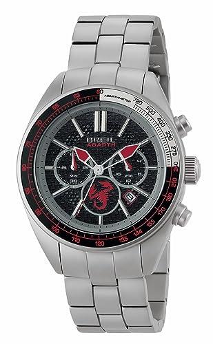 Breil Reloj Cronógrafo para Hombre de Cuarzo con Correa en Acero Inoxidable TW1692: Amazon.es: Relojes