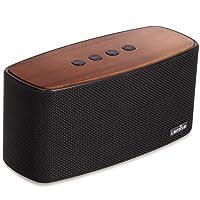 Enceinte Bluetooth Speaker Portable 30W, COMISO Haut-Parleur Bluetooth sans Fil 3D Digital Sound 20 Heures d'autonomie en Lecture, Compatibilité iphone, Android, Smartphone (Noir)