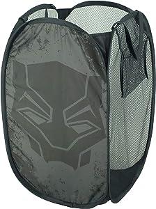 Marvel Black Panther Laundry Bin, Grey
