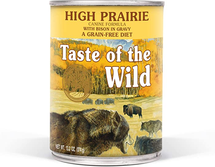 Top 8 Taste Of The Wild Dog Can Food
