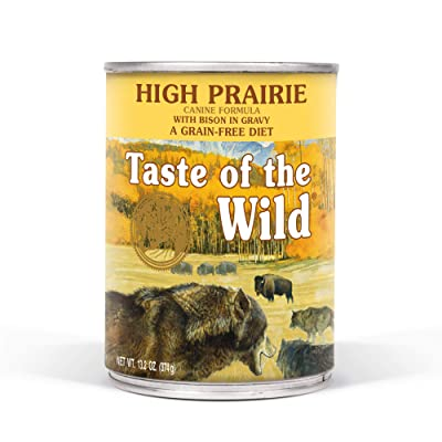 Taste of the Wild High Protein Real Meat Grain-Free Recipes Wet Canned Dog Food