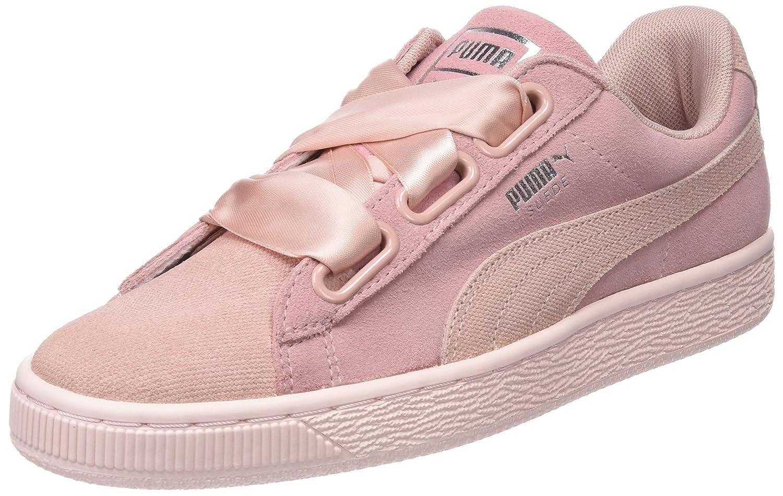 Puma Suede Heart Pebble Wn's, Zapatillas para Mujer 37 EU|Beige (Peach Beige-pearl)