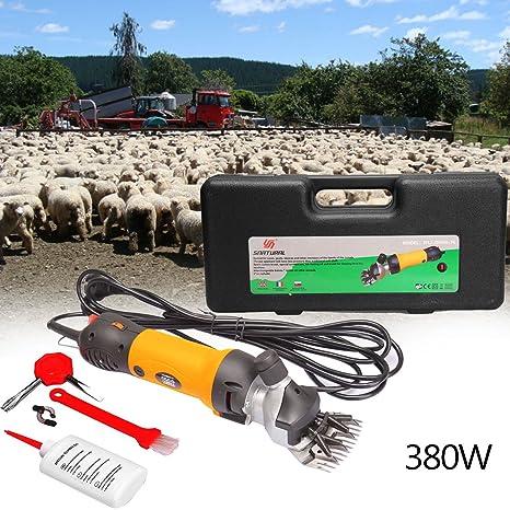 350W Schafschere Schaf Schermaschine Set Elektrische Wolle Scheren Rasierer